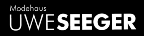 Logo Modehaus Uwe Seeger Altensteig Räumungsverkauf wegen Umbau