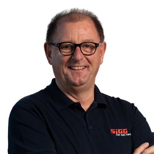 Portrait von Carsten Meyer, Geschäftsführer, SIGG Zeit zum Handeln