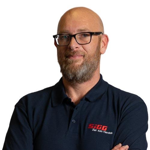 Portrait von Jörg Kanacevic, Projektbetreuer, IT-Fachmann, SIGG Zeit zum Handeln