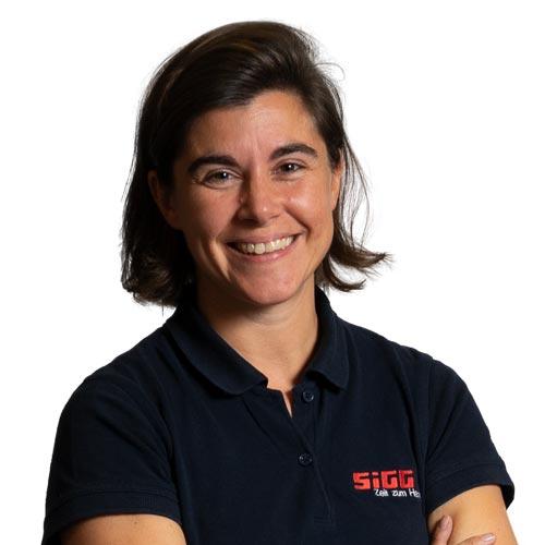Portrait von Verena Larrain, Projektbetreuerin, SIGG Zeit zum Handeln